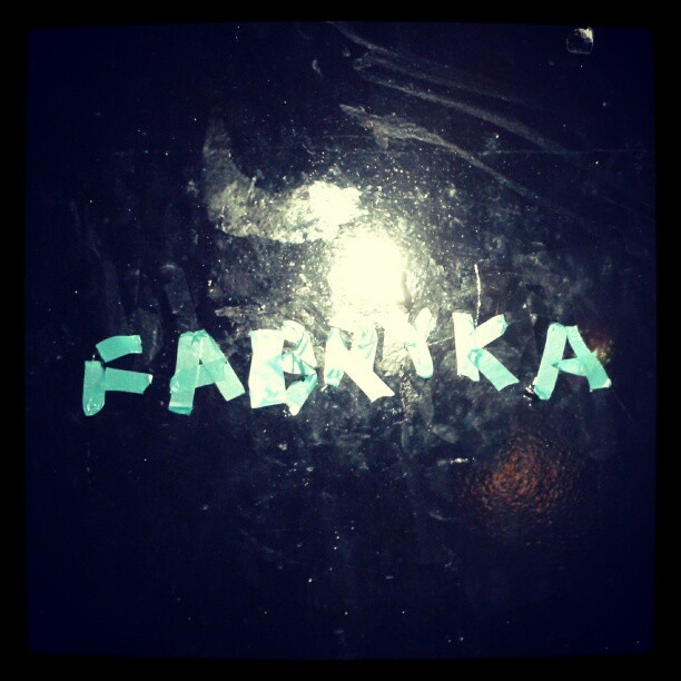 anche il Rocket è  stato marchiato :) - @loulou_aubergine- #webstagram #fabryka #live #music #band #tour