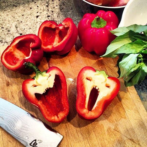 Best Hormonlu Bitkiler Images On Pinterest - 20 funny fruits and vegetables looking exactly like something else