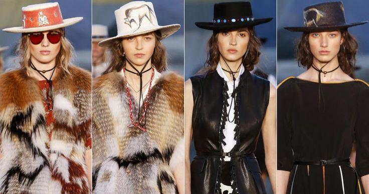 Ковбойские шляпы в круизной коллекции Dior Resort 2018