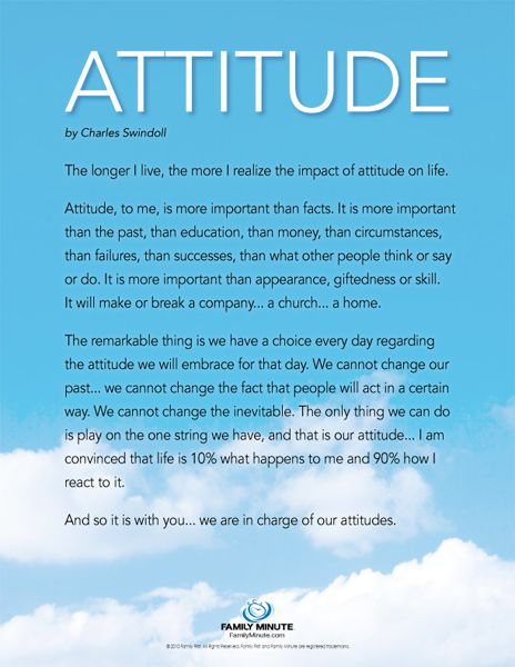 charles swindoll attitude | Download Color PDF | Download Black & White PDF
