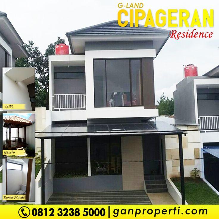 G-Land Cipageran Residence!  Lokasi Jalan Cipageran, Cimahi Utara ---------------------------------- Tersedia Tipe: 70! Progres Bangunan 85%!  Cicilan Mulai 5,3 Jutaan! ---------------------------------- Booking Info Hub 0812 3238 5000 (Telp/WA) Spek dan Harga cek di www.ganproperti.com  #house #rumahnyaman #properti #perumahan #property #realestatelife #realestate #rumah #rumahminimalis #rumahku #rumahbandung #perumahanbandung #25lokasi #website #jualrumah #ganproperti #lokasistrategis…