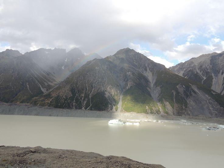 Tasman Glacier lake #travelpics #travel #newzealand #tasman