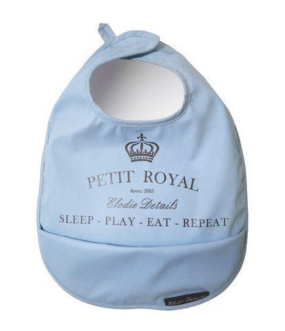 Baby Bib - Petit Royal Blue – Baby Luno