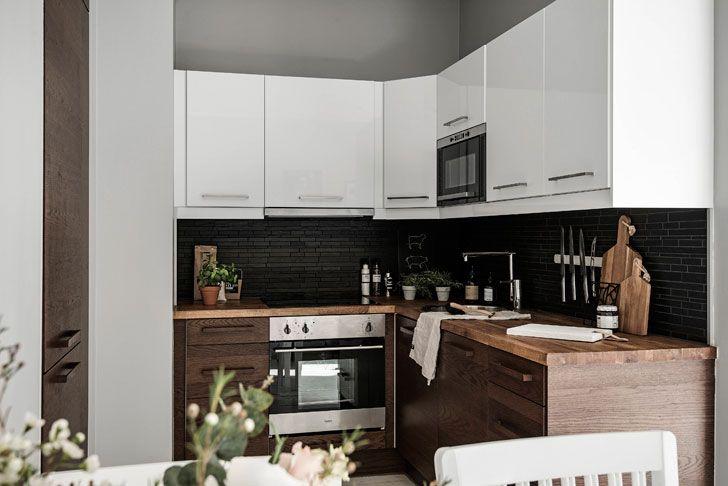 Квартира с эркером в Стокгольме (64 кв. м) | Пуфик - блог о дизайне интерьера