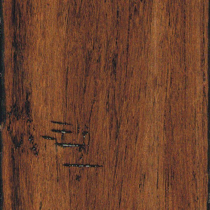 Home Legend Hand Scraped Strand Woven Spice 3/8 In. X 5-1
