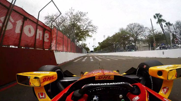 Visor Cam: Ryan Hunter-Reay At The Grand Prix of St. Petersburg