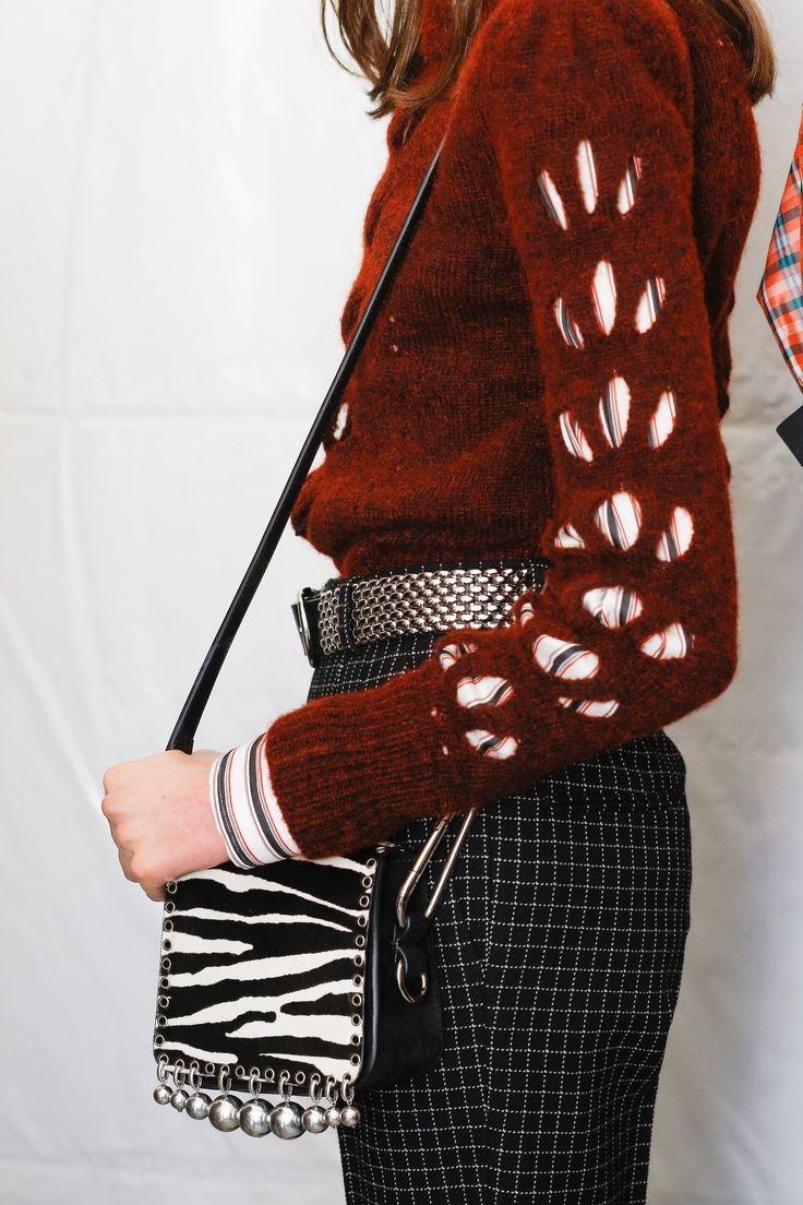 Tight sweaters and plaid pants for fall, whenever that happens // Isabel Marant Fall 2016