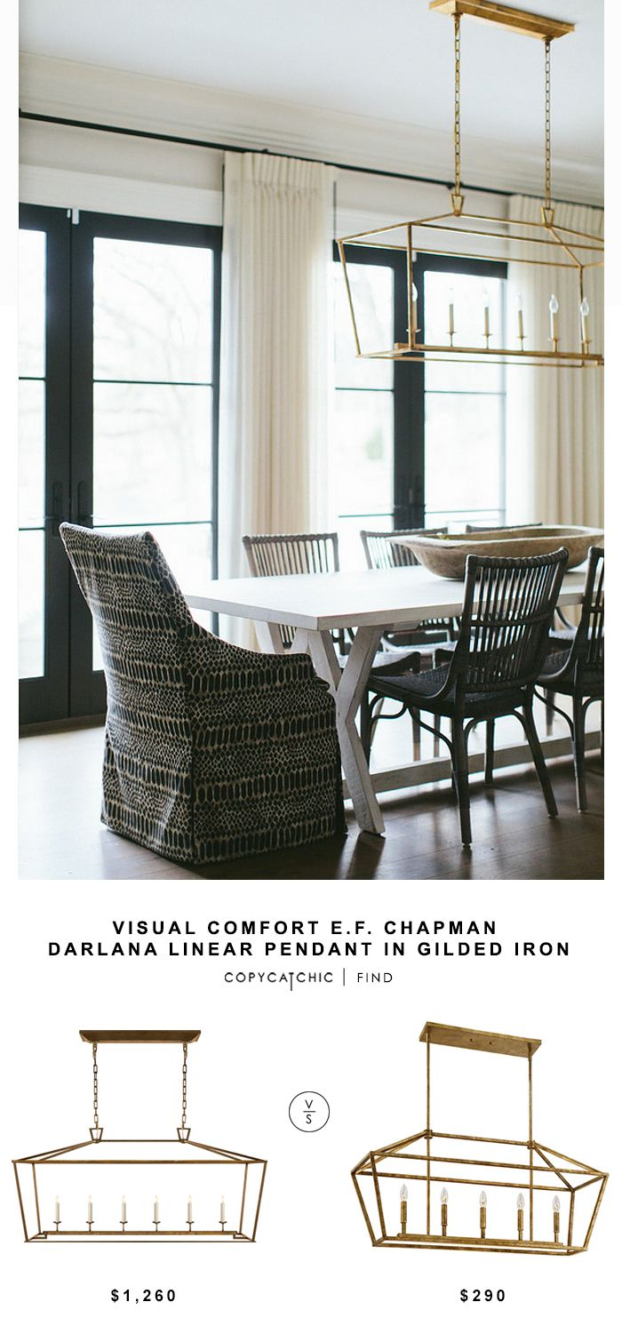 Chic drum pendant with what is shiplap and dining room set also - Visual Comfort E F Chapman Darlana Linear Pendant Dining Lightingkitchen