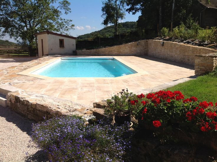 Best Piscine Et Plage En Dallage Pierre Naturelle De Bourgogne