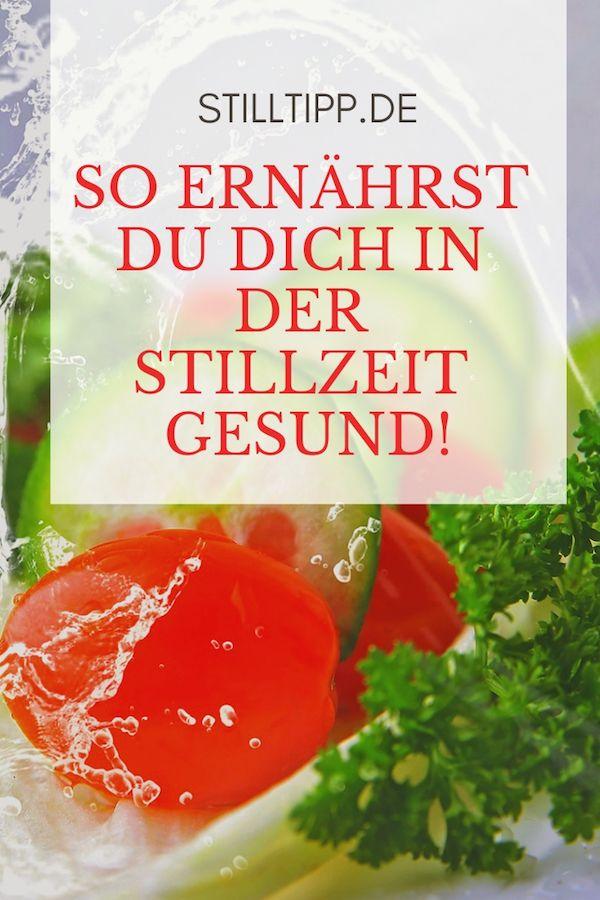 Gesund Essen In Der Stillzeit Stilltipp De Ernahrung Stillzeit Essen Stillzeit Stillen Ernahrung