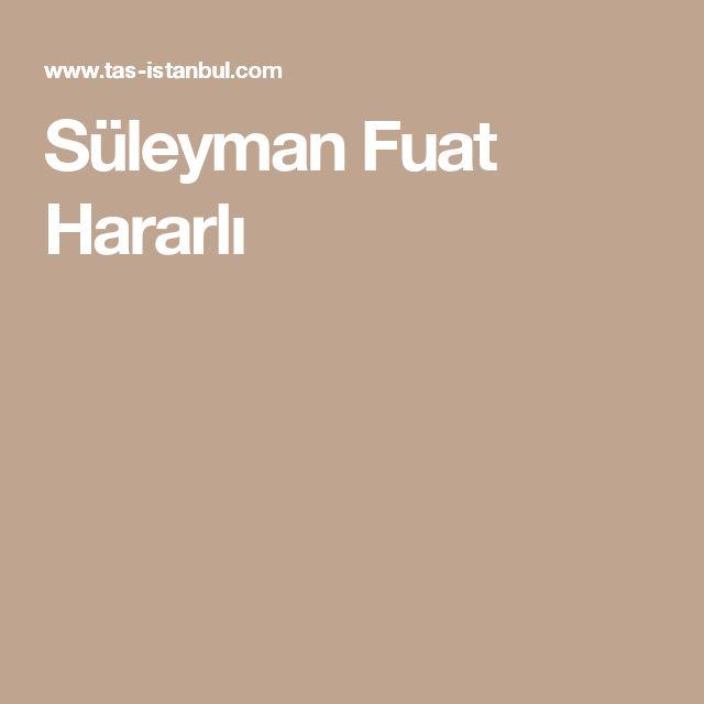 Süleyman Fuat Hararlı