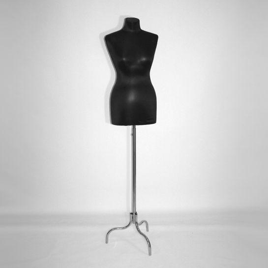 Манекен портновский женский (черный/серый) К-301-С-3И