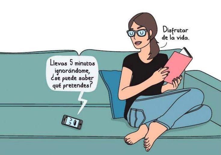 Disfrutar de la vida. Ilustración de Lucía Taboada y Raquel Córcoles de su obra 'Dejar de amargarse para imperfectas' (Planeta, 2014). Shares