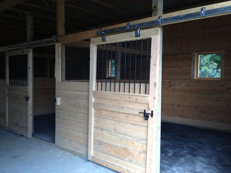Sliding Horse Stall Doors Barns