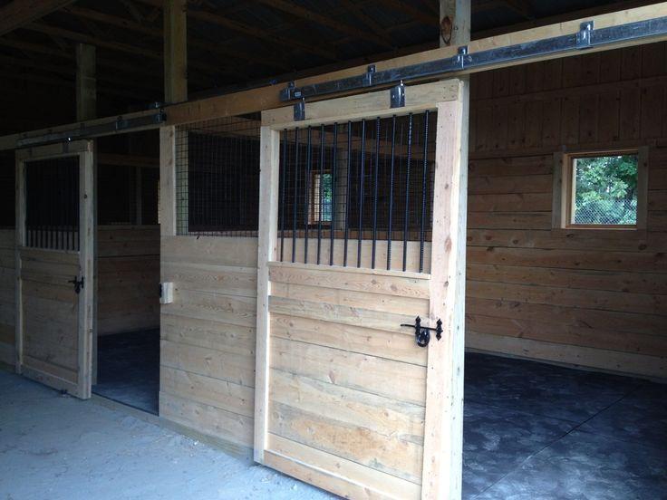 Sliding Horse Stall Doors Barns Barn Stalls Horse