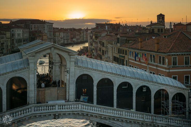 The Rialto Bridge (Landscape of Venice From the Fondaco dei Tedeschi)