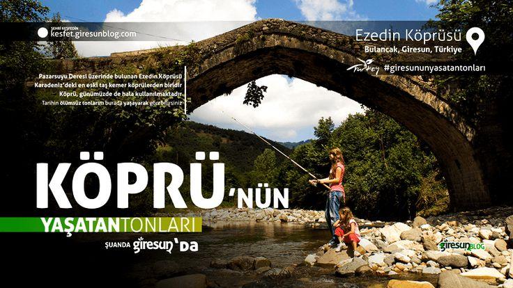 Ezedin Köprüsü http://kesfet.giresunblog.com/ezedin-koprusu/