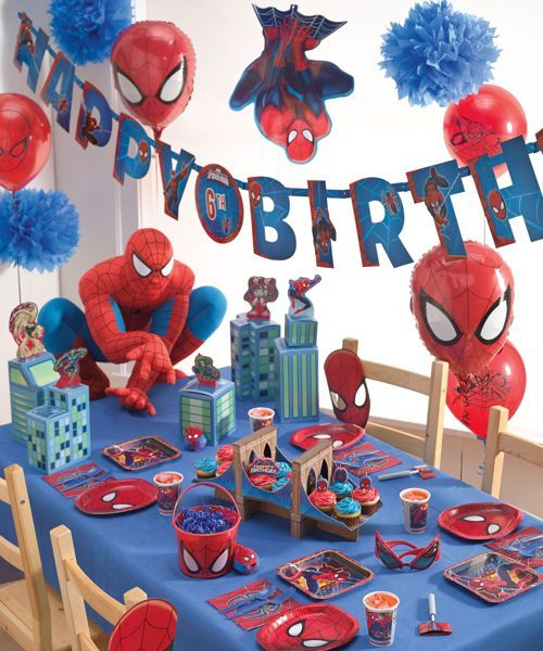 spider-man® partytime pack for 8
