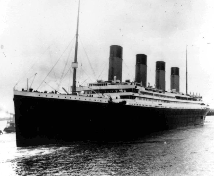 In this April 10, 1912 photo the Titanic leaves Southampton, England. The tragic sinking of the Titanic nearly a century ago can be blamed, some believe, on low grade rivets that the ship's builders used on some parts of the ill-fated liner. (Associated Press) #