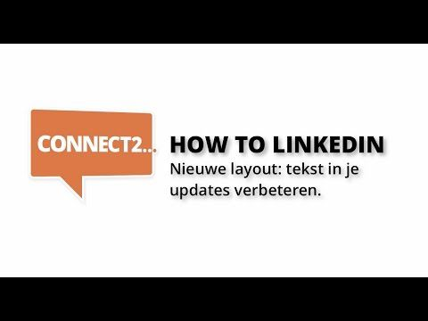 How to LinkedIn: updates wijzigen (desktop) - YouTube