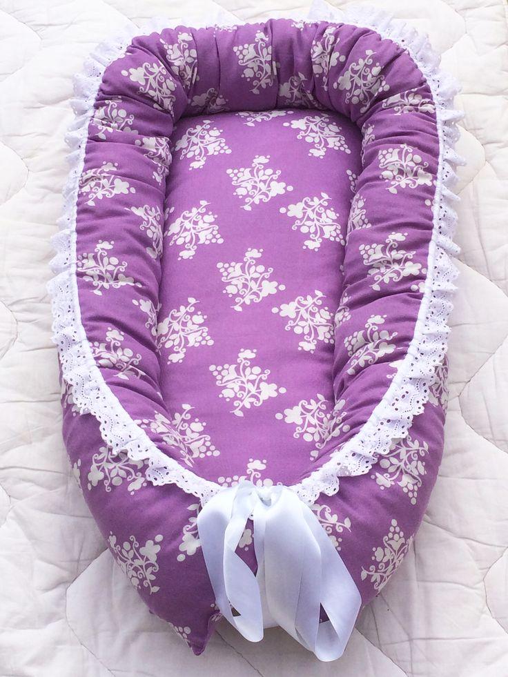 Unipesä vauvalle, liila, Leonora