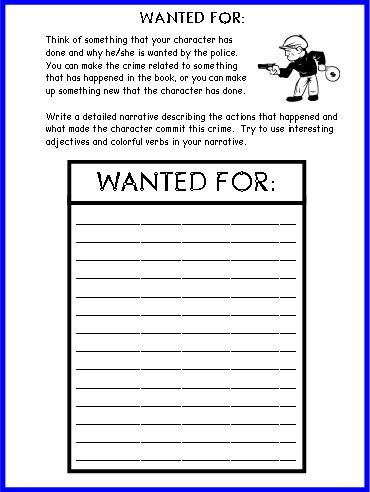 mystery book report case file Mystery genre book projects here is information for two fun mystery genre projects project 1: reading a mystery chapter book and writing a summary 1 your child will select a mystery chapter book that is  detective case report where does the story take place clues ( in order ) who discovered it 1 4 3 2.