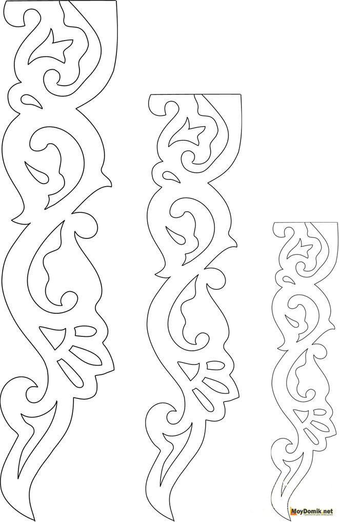 Картинки морозные узоры на окна из бумаги шаблон вырезать
