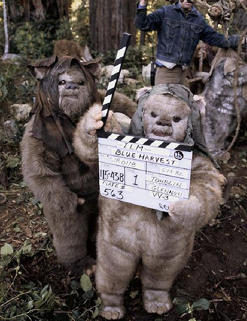 """Return of the Jedi was disguised as a horror film called """"Blue Harvest"""" while filming so that fans wouldn't disrupt shooting"""