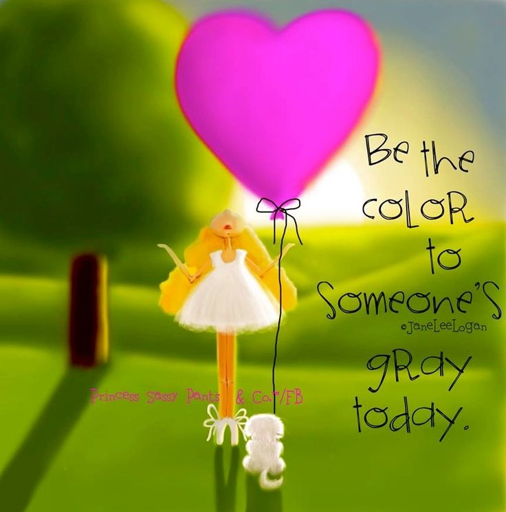 Color quote and illustration via www.Facebook.com/PrincessSassyPantsCo