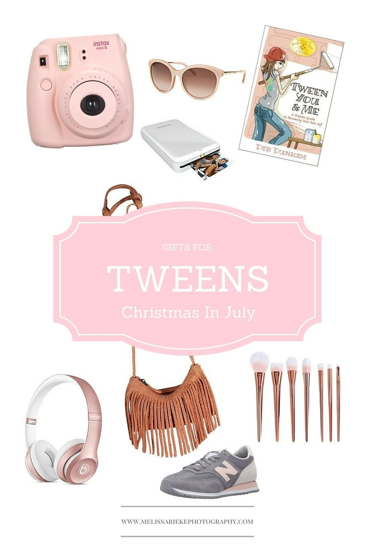 It's PRIME DAY at AMAZON and I found some great Christmas In July gifts for Tween Girls! http://www.melissariekephotography.com/prime-day/