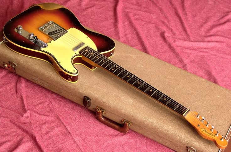A 1963 Fender Custom Telecaster Double Bound 3 Tone