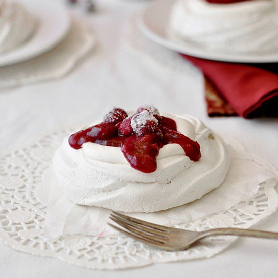 ... , whipped cream and a homemade spiced cranberry raspberry sauce