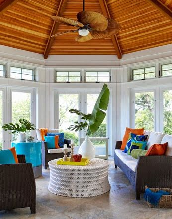 House Of Turquoise: Rachel Reider Interiors This Is A Great Gazebo Idea.  Find This Pin And More On Tropical Home Decor ...