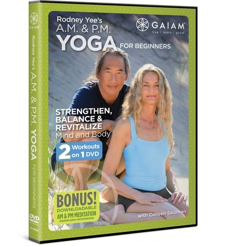 a great yoga workout! Rodney Yee's Am/Pm Yoga For Beginners DVD