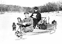 Snowmobile - Canadian invention
