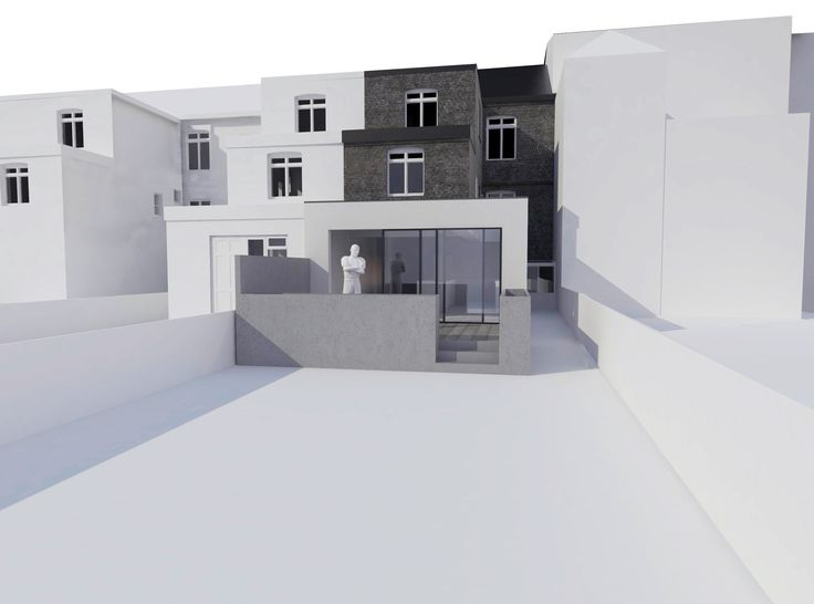 Idealcombi Futura+ windows will be fitted when converting a former HMO (House of Multiple Occupants) to a single family home. Work has started.