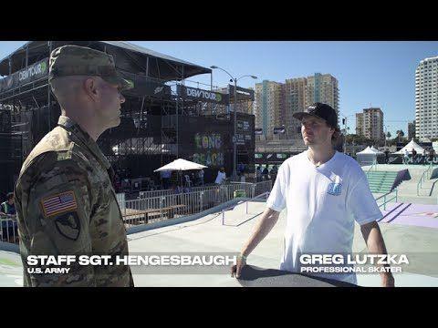 Darkstar Pro Greg Lutzka and Staff Sergeant Hengesbaugh Talk Performance – Dew Tour: Source: Dew Tour