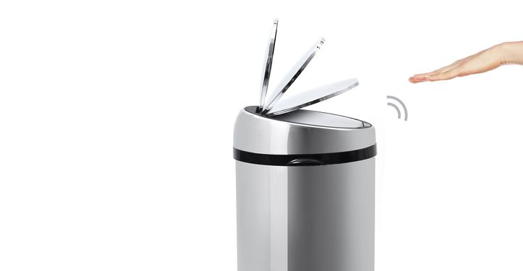 Stainless Steel Sensé Bin, Recycle