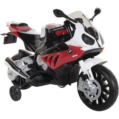 BMW 6-Volt Motorcycle Electric Ride-On, S1000RR, Multicolor
