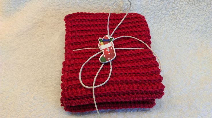 Heklet klut. Crochet dishcloth