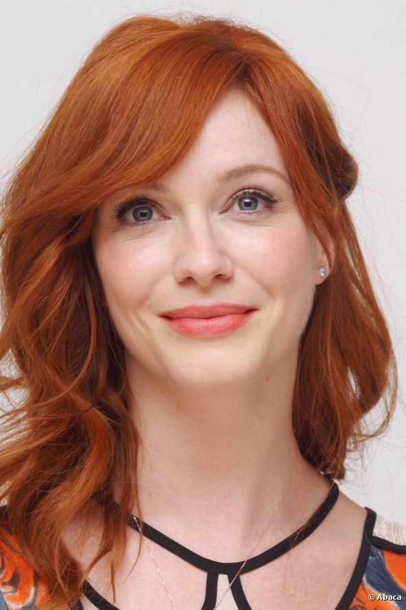 christina hendricks hair - Google Search