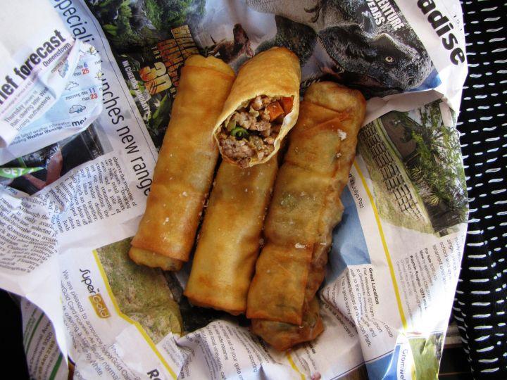 Chiko Roll or Aussie Dim Sim / Spring Roll recipe.