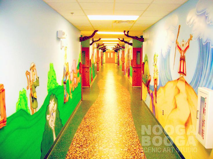 NOOGA BOOGA: Lindsay Lane Baptist Church, Athens, AL Themed Environment and Church Murals