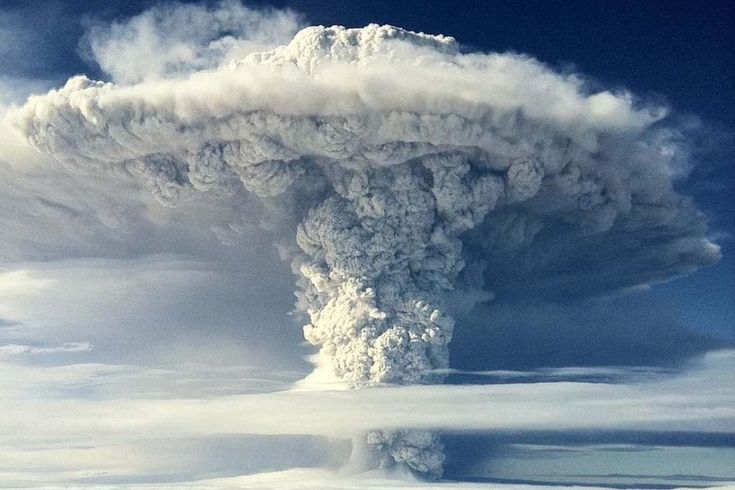 Puyehue volcano, near Osorno in southern Chile on June 5, 2011