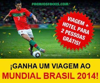 Amostras e Passatempos: Ganha Viagem ao Mundial Brasil 2014