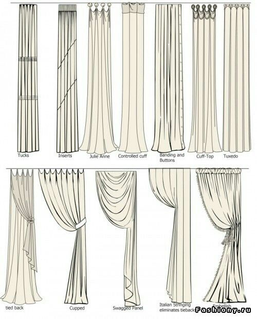 Gordijnen draips curtain
