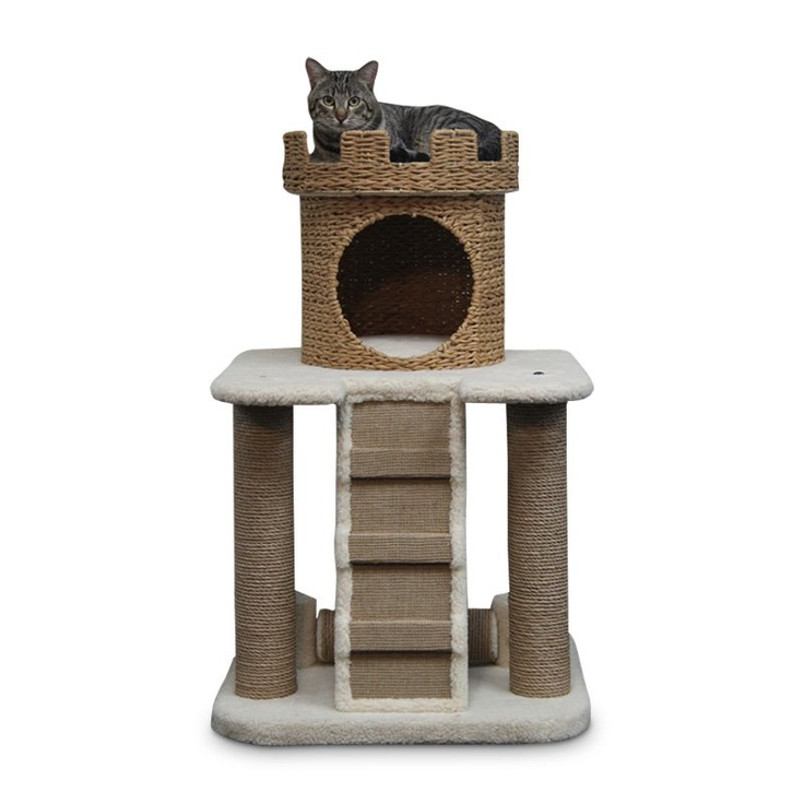 53 best images about cat castles more on pinterest for Castle cat tower