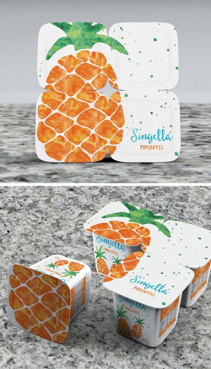 Singella Yoghurt Packaging (Concept) by Luís Camacho