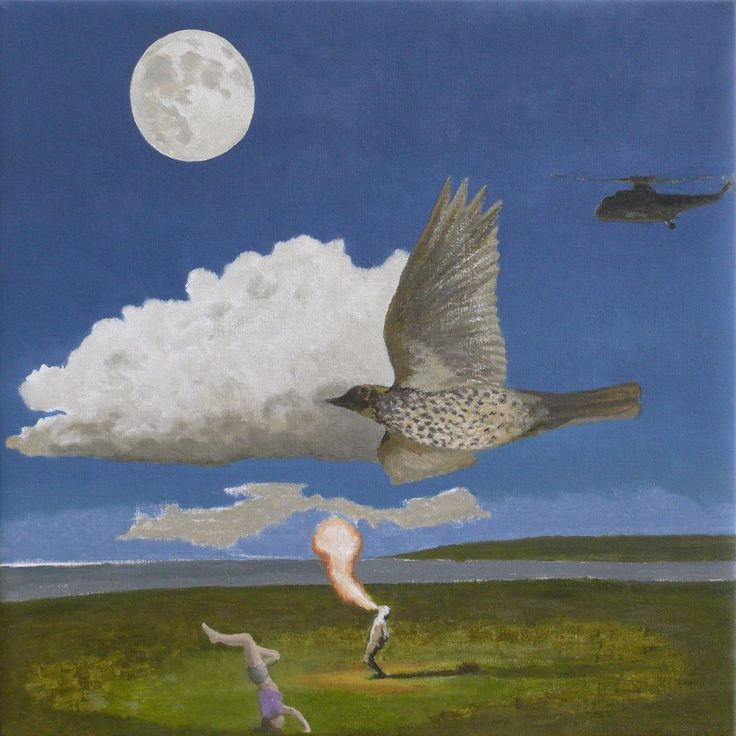 Fire Eater (2015) by David Inshaw