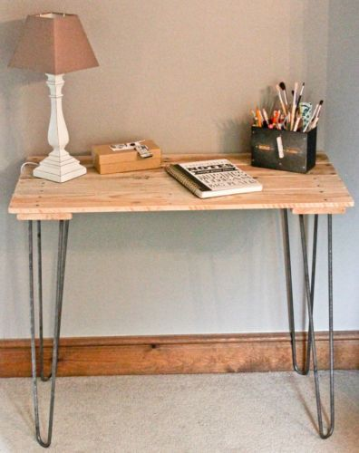 Industrial Reclaimed Pallet Console Dressing Table